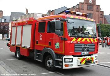 <h2>Véhicule de secours routier - Aumale - Seine-Maritime (76)</h2>