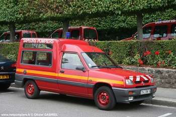 Véhicule de liaison, Sapeurs-pompiers, Seine-Maritime (76)