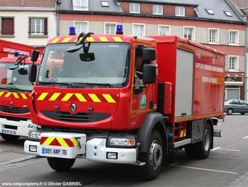 Dévidoir automobile, Sapeurs-pompiers, Seine-Maritime