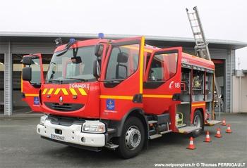 Fourgon-pompe tonne, Sapeurs-pompiers, Loiret