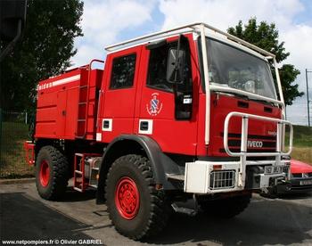 Camion-citerne pour feux de forêts, Sapeurs-pompiers, Yvelines (78)