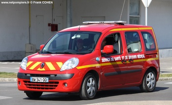 Véhicule radio médicalisé, Sapeurs-pompiers, Pas-de-Calais (62)