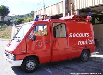 <h2>Véhicule de secours routier - Serrières - Ardèche (07)</h2>