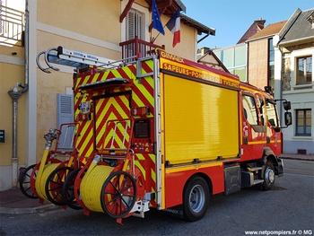 Fourgon-pompe tonne léger, Sapeurs-pompiers, Yvelines (78)