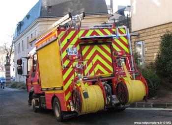 Fourgon-pompe tonne léger, Sapeurs-pompiers, Yvelines