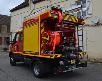 Camion-citerne rural léger, Sapeurs-pompiers, Eure (27)