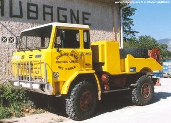 Camion-citerne pour feux de forêts, Défense des forêts contre les incendies, Bouches-du-Rhône (13)