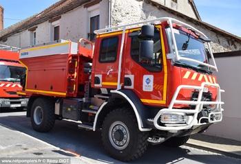 Camion-citerne rural, Sapeurs-pompiers, Marne (51)