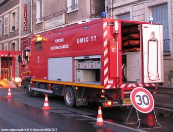 Véhicule de dépollution, Sapeurs-pompiers, Seine-et-Marne (77)