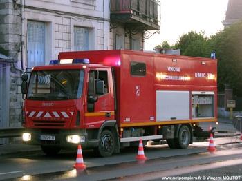Véhicule de dépollution, Sapeurs-pompiers, Seine-et-Marne