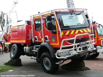 Camion-citerne pour feux de forêts, Sapeurs-pompiers, Jura