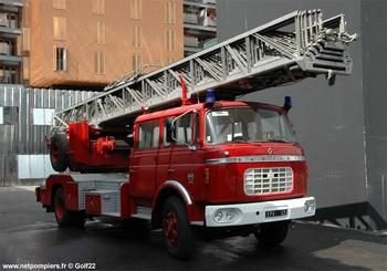 Echelle pivotante, Sapeurs-pompiers de Paris,  ()