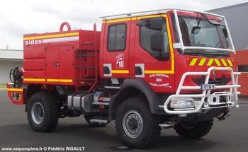 <h2>Camion-citerne pour feux de forêts - Châteauroux - Indre (36)</h2>