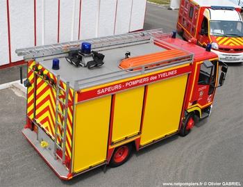 Véhicule de secours routier, Sapeurs-pompiers, Yvelines (78)