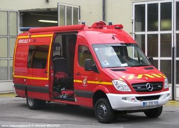 Véhicule de secours nautique, Sapeurs-pompiers, Bas-Rhin (67)