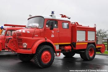 Fourgon-pompe tonne, Sapeurs-pompiers, Calvados (14)