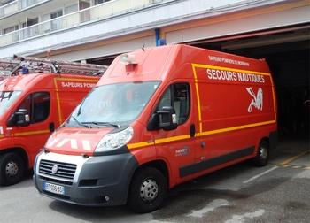 Véhicule de secours nautique, Sapeurs-pompiers, Morbihan (56)