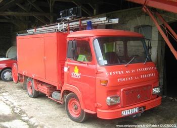 Véhicule de première intervention, Sapeurs-pompiers, Côte-d'Or (21)