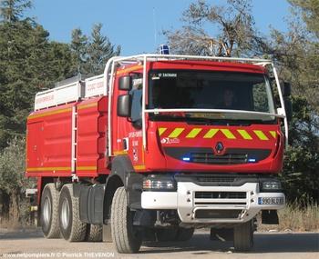 Camion-citerne de grande capacité, Sapeurs-pompiers, Var (83)