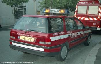 Véhicule radio médicalisé, Marins-pompiers de Marseille, Bouches-du-Rhône