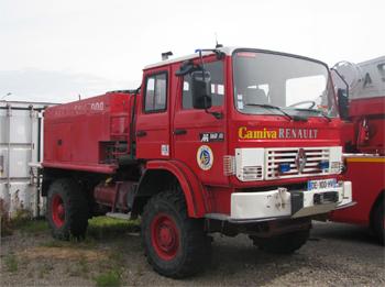 Camion-citerne pour feux de forêts, Sapeurs-pompiers, Somme