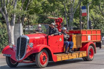 Dévidoir automobile, Marins-pompiers de Marseille,  ()