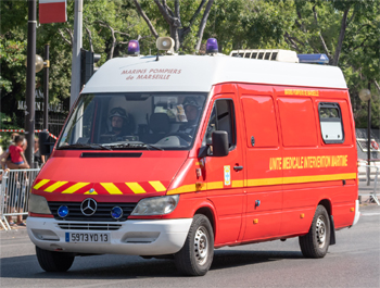 Unité médicale d'intervention en milieu maritime, Marins-pompiers de Marseille,  ()