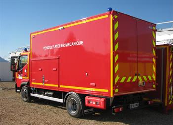 Véhicule d'assistance technique, Sapeurs-pompiers, Gironde (33)