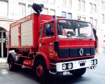 Véhicule porte-cellule, Sapeurs-pompiers, Seine-Maritime (76)