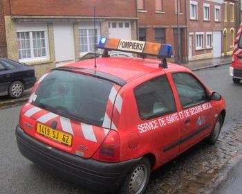 <h2>Véhicule radio médicalisé - Auchel - Pas-de-Calais (62)</h2>