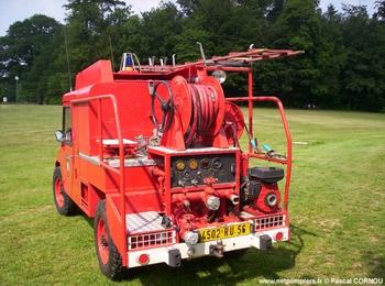 <h2>Camion-citerne pour feux de forêts léger - Muzillac - Morbihan (56)</h2>