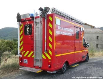 Véhicule poste de commandement, Sapeurs-pompiers, Haute-Garonne (31)