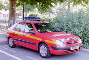 Véhicule radio médicalisé, Sapeurs-pompiers, Haute-Savoie (74)