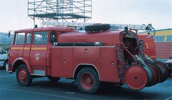 <h2>Fourgon-pompe tonne - Achères - Yvelines (78)</h2>