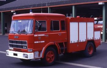 Véhicule tri-extincteur, Sapeurs-pompiers, Cantal