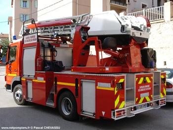 Echelle pivotante, Sapeurs-pompiers, Bouches-du-Rhône (13)