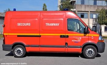 Véhicule pour interventions en milieu ferroviaire, Sapeurs-pompiers, Loire-Atlantique (44)