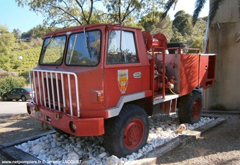 Camion-citerne pour feux de forêts, Sapeurs-pompiers, Pyrénées-Orientales (66)