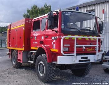 Fourgon-pompe tonne léger, Sapeurs-pompiers, Alpes-Maritimes