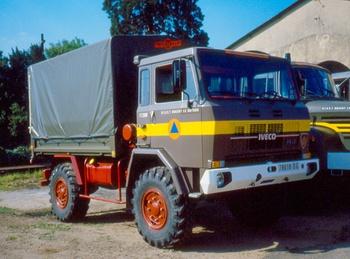 Véhicule de transport, Formations militaires de la Sécurité civile, Eure-et-Loir (28)
