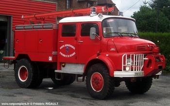Camion-citerne pour feux de forêts, Sapeurs-pompiers, Creuse (23)