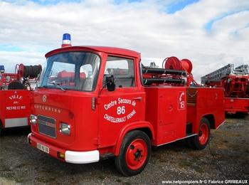 Véhicule de première intervention, Sapeurs-pompiers, Vienne (86)