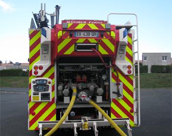 Fourgon-pompe tonne secours routier, Sapeurs-pompiers, Loir-et-Cher