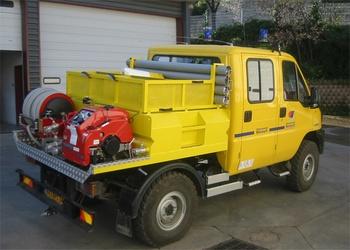 Camion-citerne pour feux de forêts, Défense des forêts contre les incendies, Hérault