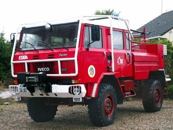 Camion-citerne pour feux de forêts, Sapeurs-pompiers, Somme (80)