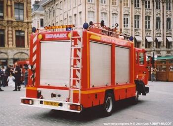 Véhicule de secours routier, Sapeurs-pompiers de Paris,  ()