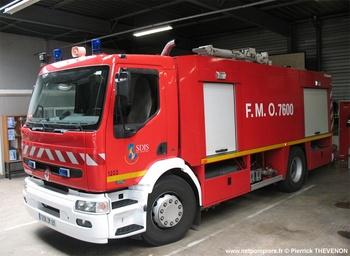 Véhicule mousse, Sapeurs-pompiers, Rhône (69)