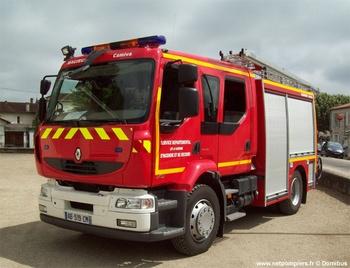 Fourgon-pompe tonne, Sapeurs-pompiers, Lot-et-Garonne (47)