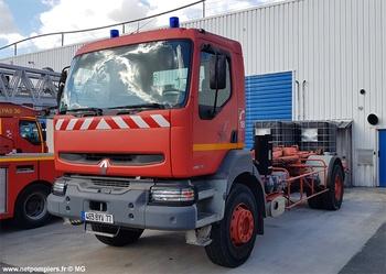 Véhicule porte-cellule, Sapeurs-pompiers, Seine-et-Marne (77)