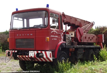 Camion-grue, Sapeurs-pompiers, Yvelines (78)
